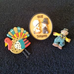 Thanksgiving Bundle of Three Pins